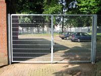 gaasmat poort verzinkt
